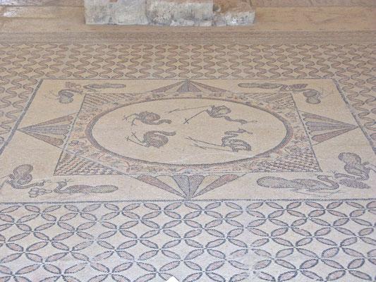 Mosaik in der alten Synagoge