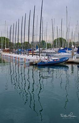 Jachthafen in der Rushcutters Bay in Sydney