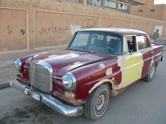 Alte Mercedes in Palmyra