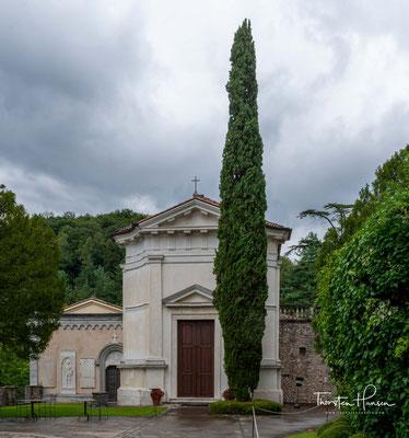 Die Familie Brandolini verließ ihr Haus und floh in ihre Solighetto-Villa in der Nähe von Pieve di Soligo.