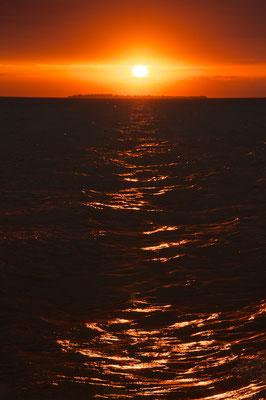 Traumhafter Sonnenuntergang von Sansibar