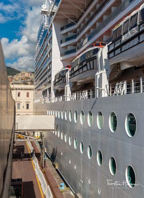 Die MSC Magnifica ist das 11. Neubauprojekt der Reederei und wurde bei der STX Europe-Werft im französischen Saint-Nazaire gebaut.