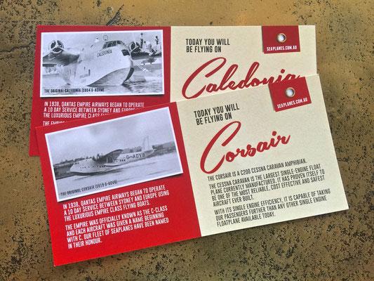 Tickets für den Rundflug mit dem Wasserflugzeug