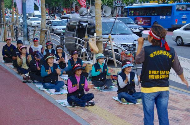 Demonstration in Seoul