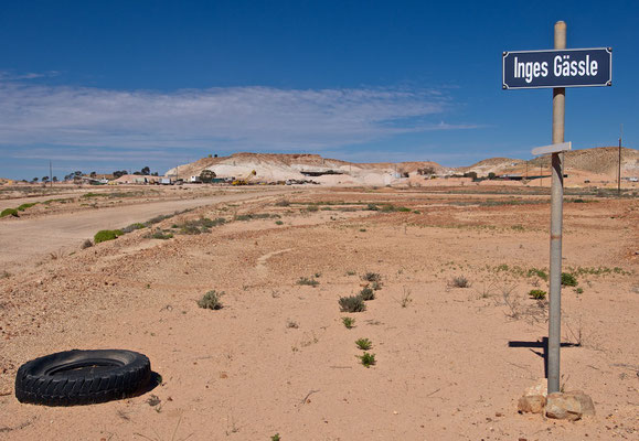 Inges Strasse in Coober Pedy