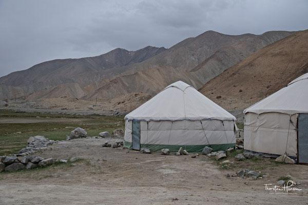 Jurte am Karakol-See