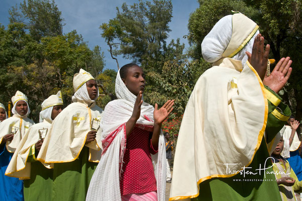 Kirchenfest in Axum