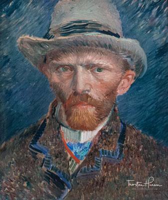 Selbstbildnis van Gogh von 1887