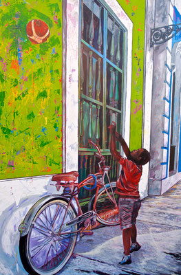 Strassenkunst in San Juan