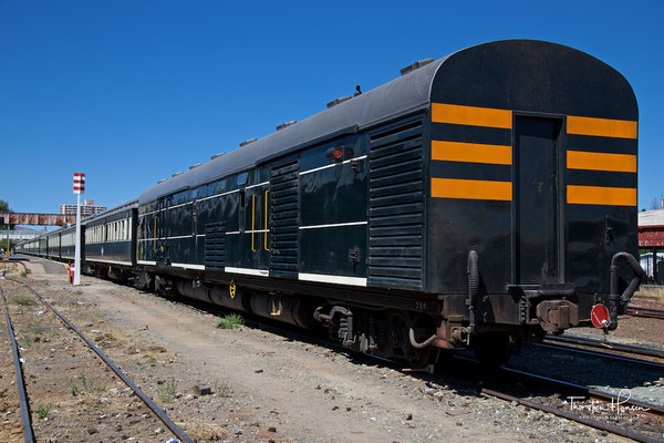 Mit dem African Explorer / Shongololo Train in Windhoek