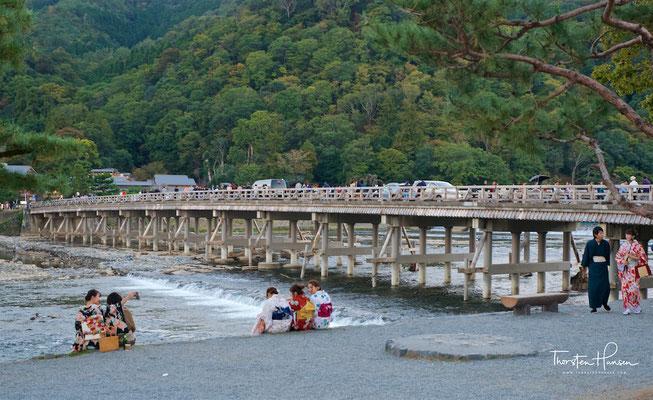 Togetsukyo-Brücke in Kyoto