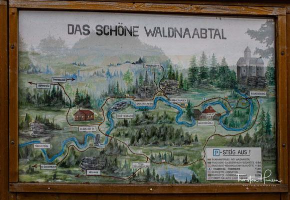 Benannt ist das Schutzgebiet nach dem Fluss Waldnaab. Waldnaabtal: 'Grand Canyon' der Oberpfalz