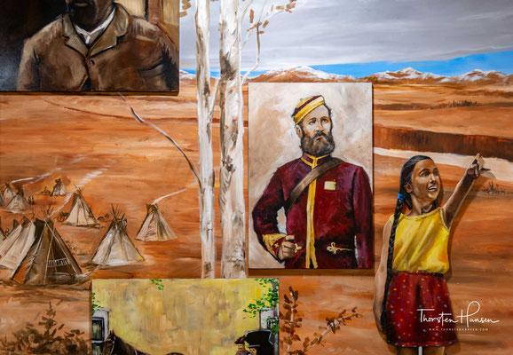 Die ersten Siedler ließen sich in den frühen 1860er Jahren nieder, meist um Jagd auf Bisons zu machen.