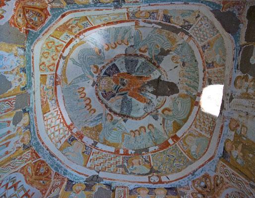 Byzantinische Malerei in der Ağaçaltı Kirche im Ihlara Tal