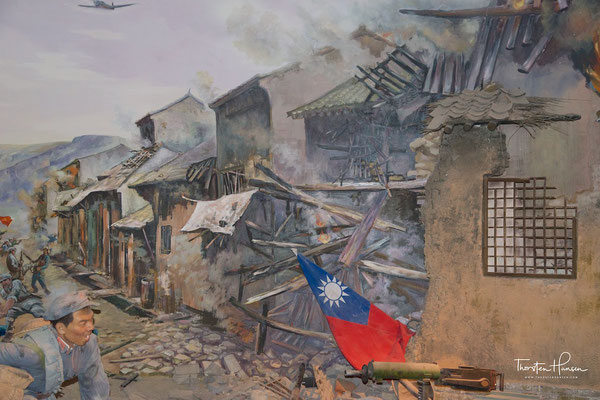 Revolutionsmuseum in Yan'an, Shaanxi