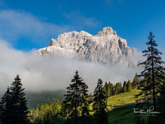 Blick auf den Monte Tàmer 2547 m