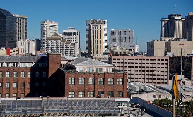 Blick über New Orleans