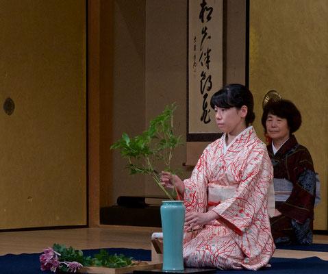 Ikebana - Blumenstecken