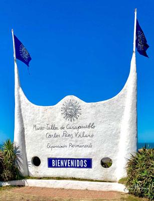 Casapueblo (sp. Haus des Volkes/Dorfs) ist das Haus des bekannten uruguayischen Künstlers Carlos Páez Vilaró.