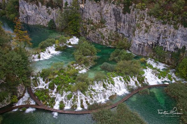 Nationalpark Plitvicer Seen in Kroatien