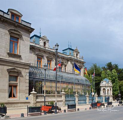 Herrenhaus des Seefahrers und Pioniers Don José Nogueira und Doña Sara Braun, zweier Persönlichkeiten, die die Geschichte von Punta Arenas bedeutend mitgestaltet haben.