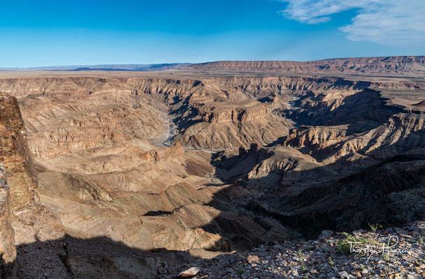 Die Geschichte der vom Fish River durchschnittenen Gesteine, die zu den ältesten Gesteinen Namibias zählen, begann schon vor über einer Milliarde Jahre.