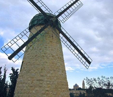 Windmühle Mishkenot Shaananim
