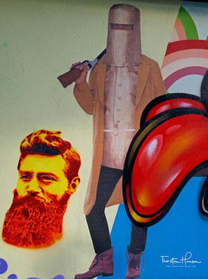 Ned Kelly in Melbourne