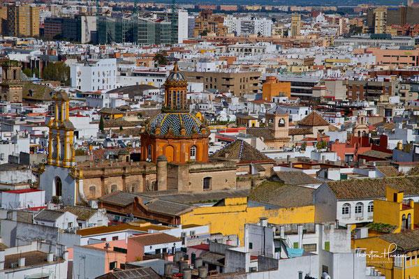 Blick über Sevilla
