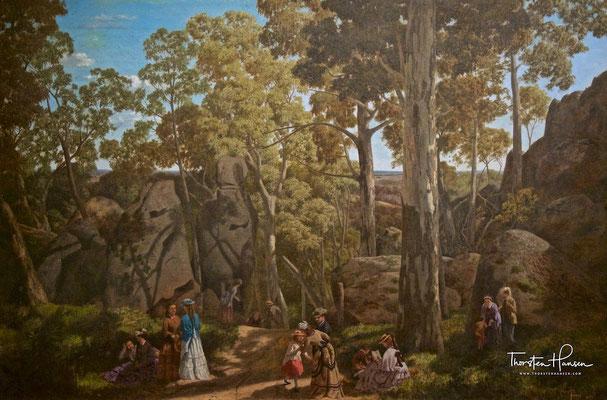 Gemälde vom Hanging Rock