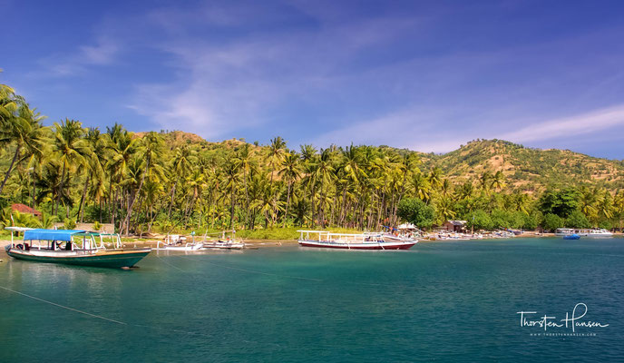 Kurzer Stopp in Lombok