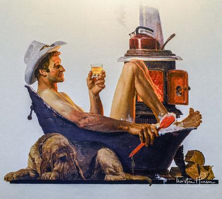 Ähnlich wie der andere große Tennessee Whiskey Jack Daniel's durchläuft George Dickel vor der Lagerung eine Filtration durch Holzkohle.