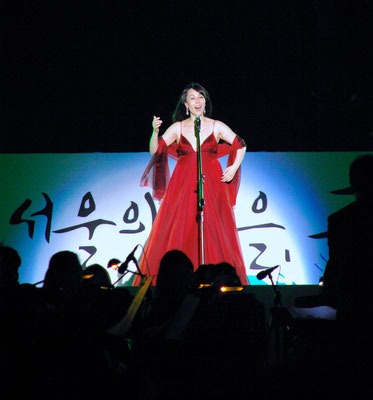 Soprano Shin Youngok in Seoul