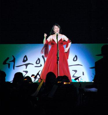 Soprano Shin Youngok in Seoul