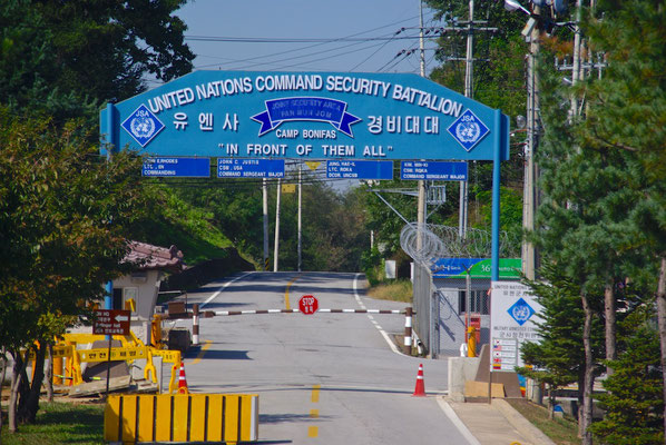 Camp Bonifas in der DMZ