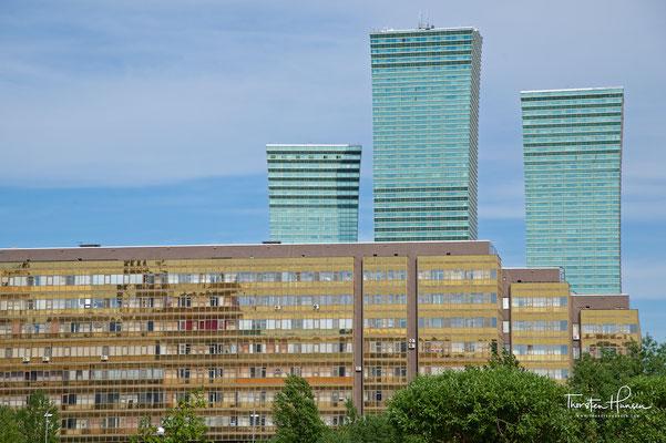 Hochhäuser Northern Lights in Astana