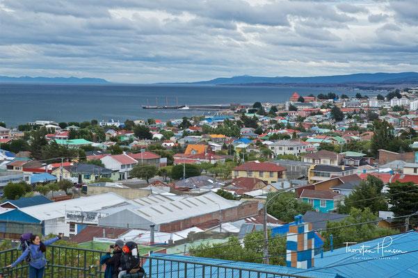 Stadtzentrum von Punta Arenas