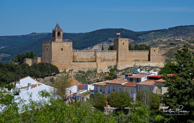 Antequera – Festungshügel (alcazaba)