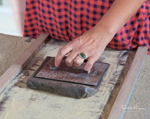 Azulejos in Handarbeit