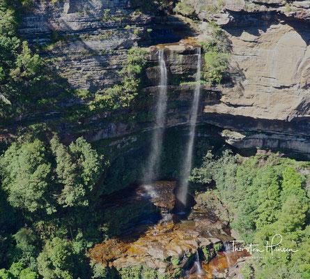Wasserfall in den Blue Mountains