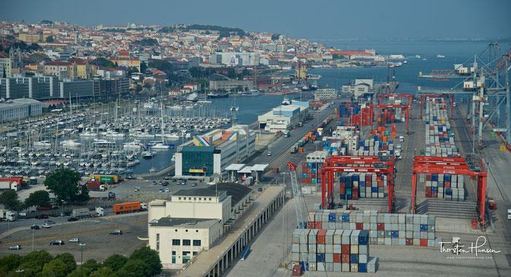 Hafen von Lissabon