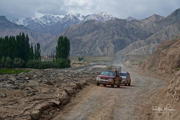 Unterwegs auf dem Karakorum Highway