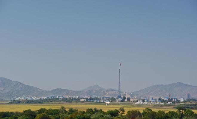 Gijeong Town in Nordkorea