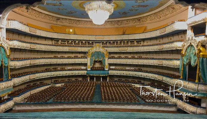 Model des Mariinsky Theaters in St. Petersburg