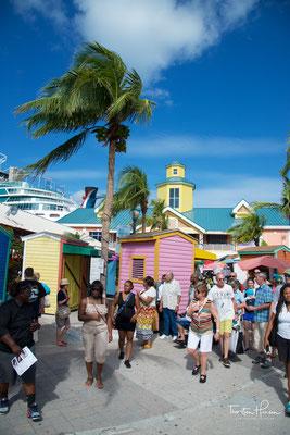 Ankunft in Nassau