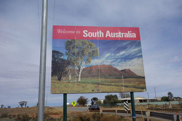 Willkommen in Südaustralien