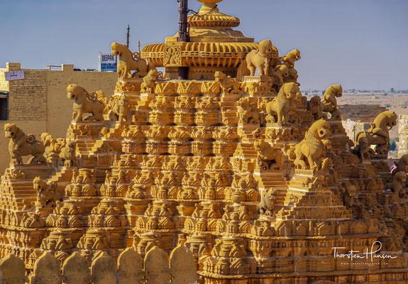 Chandraprabhu Jain Tempel im inneren des Jaisalmer Forts