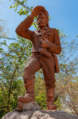 Monument für Dr. Livingstone
