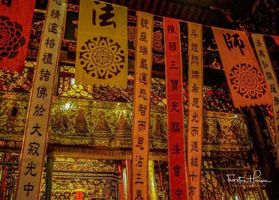 So blieb der Tempel bis heute erhalten. 1945 wurde seine Haupthalle zerstört, die Statue Kuan Yins wurde jedoch nicht beschädigt.