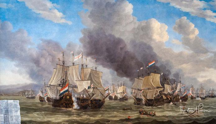 Die Schlacht von Livorno, 1653-64 von Reinier Zeeman